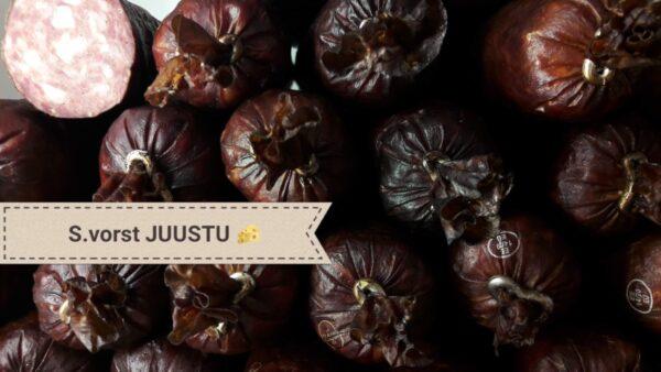 Suitsuvorst JUUSTU p/s